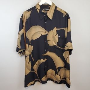Tori Richard Silk Blend Hawaiian Shirt
